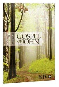 NIV Gospel of John Large Print: Path Cover
