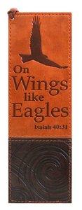 Bookmark: On Wings Like Eagles Luxleather