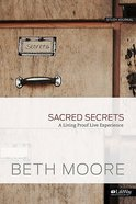 Sacred Secrets: A Living Proof Live Experience (Small Group Kit) Pack