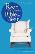 Read Through the Bible in a Year Paperback