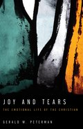 Joy and Tears Paperback