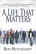 A Life That Matters Paperback
