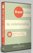 From Rules to Relationship (1 Disc) DVD