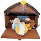 Plush Nativity (4 Piece Play Set) (Tales Of Glory Toys Series)