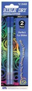 Dry Highlighter Refills 2 Pack Blue Stationery