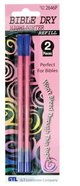 Dry Highlighter Refills 2 Pack Pink Stationery