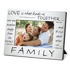 Pewter Photo Frame: Family Homeware