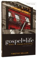 Gospel in Life (Study Guide With Dvd) Hardback
