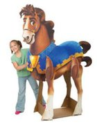 3-D Horse Display (Kingdom Rock Series) Novelty