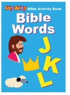Activity Book Bible Words (Itty Bitty Bible Series) Paperback