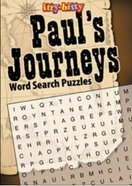 Itty Bitty Bible: Activity Book Paul Journeys Wordsearch