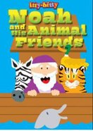 Activity Book Noah and the Animal Friends (Itty Bitty Bible Series) Paperback