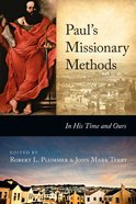 Paul's Missionary Methods Paperback