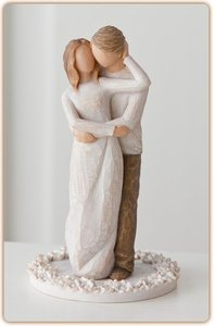 Willow Tree Cake Topper: Together (Wedding)