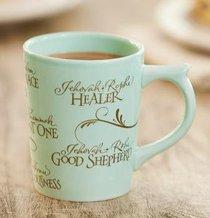 Classic Ceramic Mug: Jehovah Names, Ezekiel 48:35