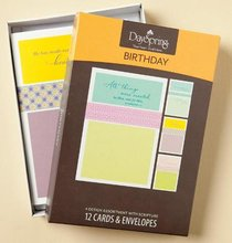 Boxed Cards Birthday: Scripture