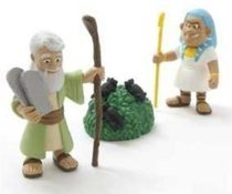 Moses and the Ten Plagues (Tales Of Glory Toys Series)