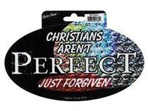 Sticker: Prismatic Foil Christians Arent Perfect