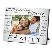Pewter Photo Frame: Family