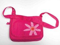 Bible Cover Faithgirlz Messenger Bag Pink Flower Medium