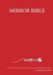 Mirror Bible, the Red Large Print