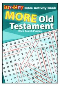 Activity Book More Old Testament (Itty Bitty Bible Series)