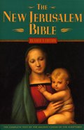 The New Jerusalem Bible (Reader's Edition) Paperback