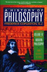 History of Philosophy (Vol 4)