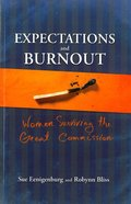 Expectations and Burnout Paperback