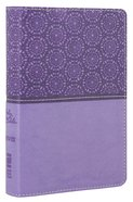 NIV Compact Thinline Bible Lavender Duo-Tone (Red Letter Edition) Imitation Leather