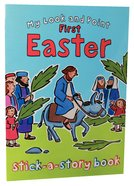 My Look and Point: First Easter Stick-A-Story Paperback