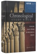 NIV Chronological Study Bible (Black Letter Edition) Hardback