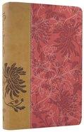 NKJV Woman's Study Bible Personal Size Pink/Cafe Au Lait Imitation Leather