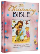 The Christening Bible (Pink) Padded Hardback
