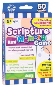 Flash Cards: Scripture Memory Game (Age 5+) (Pk 50)