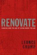 Renovate Paperback