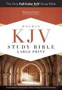 KJV Study Bible Large Print Edition