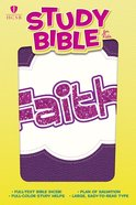 HCSB Study Bible For Kids Faith Imitation Leather