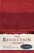 The Resolution For Women (Deluxe Leather Edition)