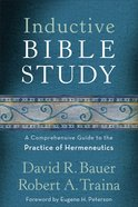 Inductive Bible Study Paperback