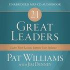 21 Great Leaders (Unabridged, Mp3) CD
