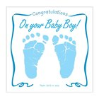 Baby Boy Greeting Card With CD