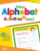 Bible Alphabet Activities For Kids Reproducible (Ages 4+)