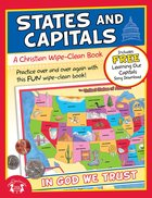 Wipe Clean Book: States and Capitals (Age 7+) (Usa Themes)