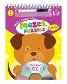 Sing and Learn: Bible Mazes, Puzzles & More! (Incl Music Cd)