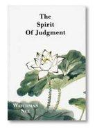 The Spirit of Judgement Paperback