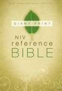 NIV Reference Bible Giant Print Hardback