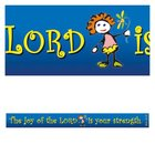 Magnet Strip: The Joy of the Lord is Your Strength