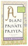 A Diary of Private Prayer Paperback