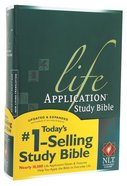 NLT Life Application Study Bible (Red Letter Edition) Hardback